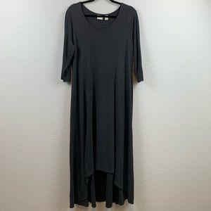 Chico's size 2 Large Hi-Low grey dress